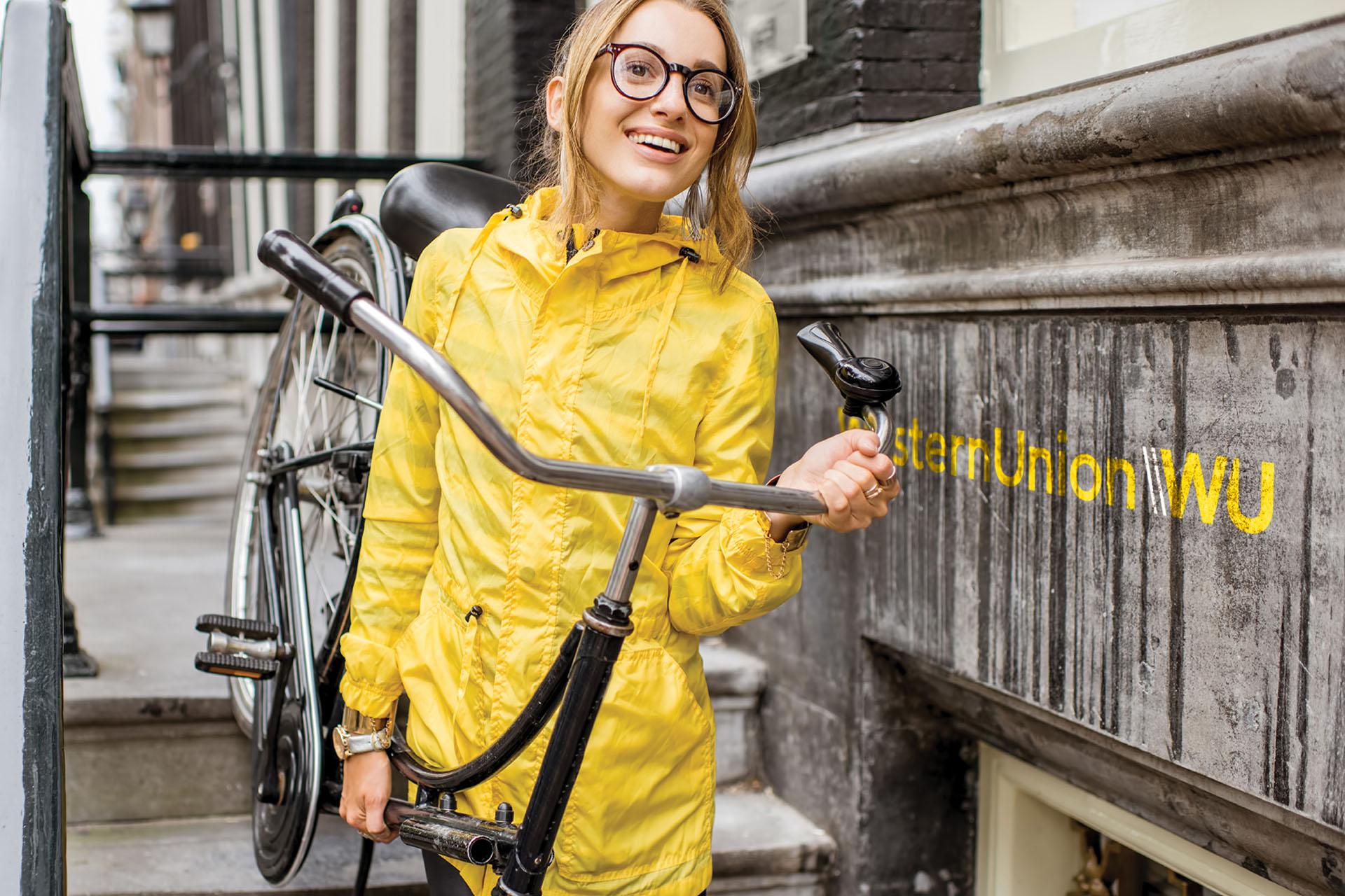 WU #autumn #2018 #bike #girl